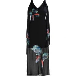 Długie sukienki: Wallis BUTTERFLY Długa sukienka black