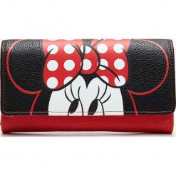Portfel Minnie Mouse - Czarny. Szare portfele damskie marki Mohito, w kwiaty. Za 44,99 zł.