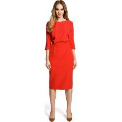 Sukienka odcinana w pasie moe360. Czerwone sukienki na komunię Moe, s, dopasowane. Za 129,00 zł.