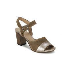 Sandały Now  BRONIA. Zielone sandały damskie marki Now. Za 599,20 zł.