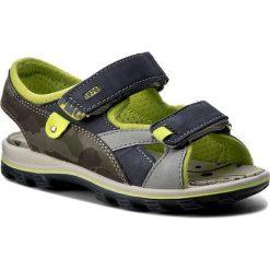 Sandały PRIMIGI - 7662200 S Azzu. Niebieskie sandały chłopięce Primigi, z materiału. W wyprzedaży za 159,00 zł.