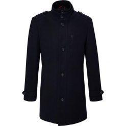 Płaszcz CESARE 16-11KK. Czarne płaszcze na zamek męskie Giacomo Conti, m, z wełny. Za 599,00 zł.