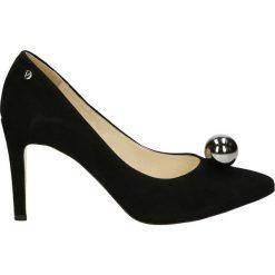 Buty ślubne damskie: Czółenka - 2826 CAM NERO
