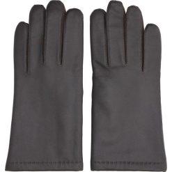 Rękawiczki lebon brąz. Czarne rękawiczki męskie Recman. Za 239,00 zł.