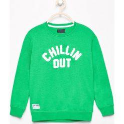 Odzież dziecięca: Bluza z aplikacją - Zielony