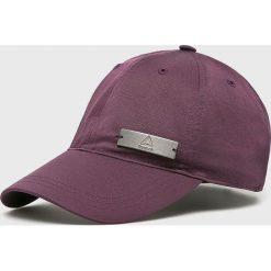 Reebok - Czapka. Szare czapki z daszkiem damskie marki Reebok, l, z dzianiny, z okrągłym kołnierzem. Za 59,90 zł.