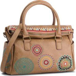 Torebka DESIGUAL - 18WAXPBB 6007. Brązowe torebki klasyczne damskie marki Desigual, ze skóry ekologicznej. Za 299,90 zł.