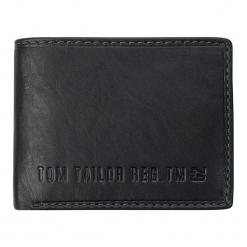 Tom Tailor Portfel Męski Czarny Harry. Czarne portfele męskie marki Tom Tailor. Za 179,00 zł.