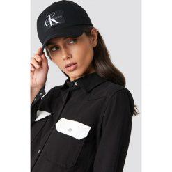 Czapki z daszkiem damskie: Calvin Klein Czapka J Monogram W - Black