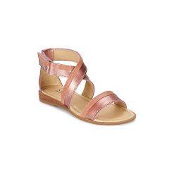 Sandały Dziecko  Mod'8  JOYCE. Czerwone sandały dziewczęce marki OLAIAN. Za 239,20 zł.