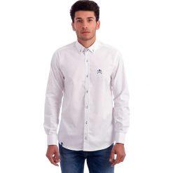 Koszule męskie na spinki: Koszula w kolorze białym