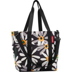 Shopper bag damskie: Shopper bag w kolorze czarno-białym – 50 x 30 x 20 cm