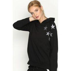 Bluzy rozpinane damskie: Czarna Bluza Few Stars