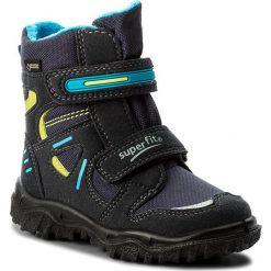 Buty zimowe chłopięce: Śniegowce SUPERFIT – GORE-TEX 1-00080-81 M Ocean Kombi