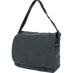 Vintage Canvas Torba kurierska czarny. Czarne torby na ramię męskie Vintage Canvas. Za 184,90 zł.