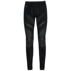 Bryczesy damskie: Odlo Spodnie tech. Odlo Pants EVOLUTION WARM Muscle Force - 183112 - 183112/60098/XL