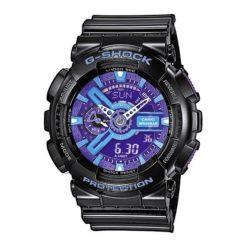 """Zegarek """"GA-110HC-1AER"""" w kolorze czarnym. Czarne, analogowe zegarki męskie Lacoste, sztuczne. W wyprzedaży za 367,95 zł."""