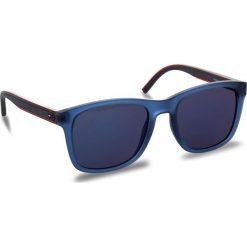 Okulary przeciwsłoneczne męskie: Okulary przeciwsłoneczne TOMMY HILFIGER – 1493/S Blue PJP