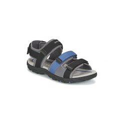 Sandały sportowe Dziecko  Geox  J S.STRADA A. Czarne buty sportowe chłopięce Geox. Za 202,30 zł.