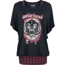Motörhead EMP Signature Collection Koszulka damska czarny/czerwony. Czarne bluzki asymetryczne Motörhead, xxl, z aplikacjami, z materiału, z dekoltem na plecach. Za 129,90 zł.