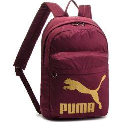 Plecak PUMA - 074799 11 Fig-Gold. Czerwone plecaki damskie Puma, z materiału, sportowe. Za 139,00 zł.
