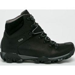 Badura - Buty. Czarne buty trekkingowe męskie marki Badura, z materiału, outdoorowe. Za 349,90 zł.