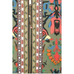 Desigual - Kurtka bomber dwustronna. Szare bomberki damskie marki Desigual, l, z tkaniny, casualowe, z długim rękawem. W wyprzedaży za 399,90 zł.