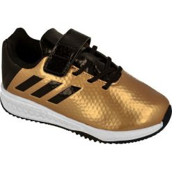 Buciki niemowlęce chłopięce: Adidas Buty dziecięce RapidaTurf Messi El złote r. 24 (BB0234)