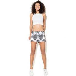 Colour Pleasure Spodnie damskie CP-020 273 biało-szare r. XL/XXL. Białe spodnie sportowe damskie Colour pleasure, xl. Za 72,34 zł.