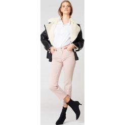 Spodnie damskie: Filippa K Jeansy Stella Cropped Coloured - Pink