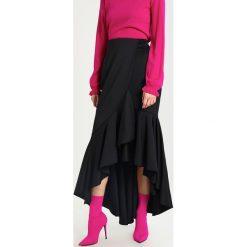 Coast EMILE SKIRT Długa spódnica black. Czarne długie spódnice Coast, z elastanu. W wyprzedaży za 463,20 zł.