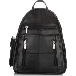 PLECAK VINTAGE DAMSKI ABRUZZO SKÓRA. Czarne plecaki damskie marki Abruzzo, ze skóry. Za 129,00 zł.
