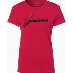 T-shirty damskie: Guess Jeans – T-shirt damski, różowy