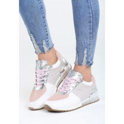 Różowe Buty Sportowe This Is Me. Czerwone buty sportowe damskie marki KALENJI, z gumy. Za 89,99 zł.