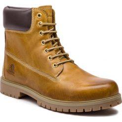 Trapery CANGURO - A029-300 Yellow/Brown 1. Brązowe botki męskie Canguro, z materiału. Za 259,00 zł.