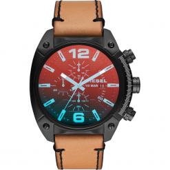 Zegarek DIESEL - Overflov DZ4482  Brown/Black. Brązowe zegarki męskie Diesel. Za 969,00 zł.