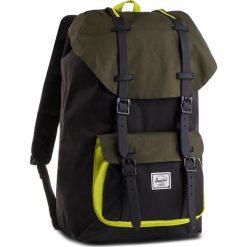Plecak HERSCHEL - Lilamer 10014-02103 B/Forest. Czarne plecaki męskie Herschel, z materiału. W wyprzedaży za 329,00 zł.