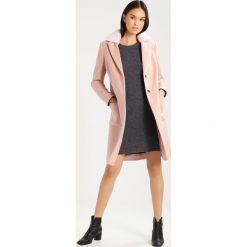 Płaszcze damskie pastelowe: Dorothy Perkins Płaszcz wełniany /Płaszcz klasyczny blush