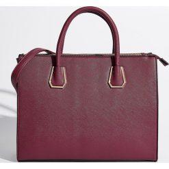 Torba city bag - Bordowy. Czerwone torebki klasyczne damskie marki Reserved, duże. Za 89,99 zł.