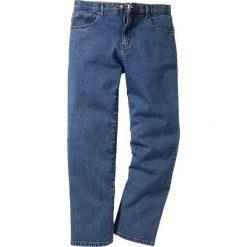 Dżinsy Classic Fit Straight bonprix niebieski. Niebieskie jeansy męskie regular bonprix. Za 89,99 zł.