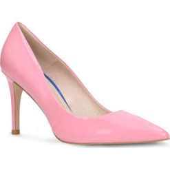 Czółenka SAVONA. Czerwone buty ślubne damskie Gino Rossi, z lakierowanej skóry, na obcasie. Za 199,90 zł.