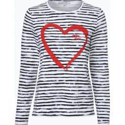 Bluzy damskie: comma casual identity - Damska bluza nierozpinana, niebieski