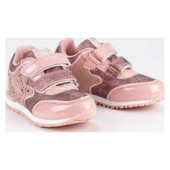 Buty sportowe na rzepy  AMERICAN CLUB różowe. Czerwone buciki niemowlęce American CLUB, na rzepy. Za 89,90 zł.
