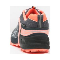 CMP SUPER X WP Obuwie hikingowe asphalt/peach fluo. Białe buty sportowe damskie marki Nike Performance, z materiału, na golfa. W wyprzedaży za 314,30 zł.