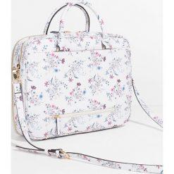 Parfois - Torebka. Szare torebki klasyczne damskie marki Parfois, w paski, z materiału, duże. Za 149,90 zł.