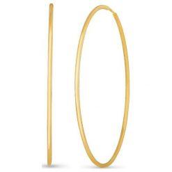 Kolczyki damskie: Wspaniałe Kolczyki Złote – złoto żółte 585