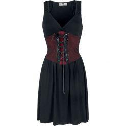 Black Premium by EMP It's No Game Sukienka czarny/czerwony. Czarne sukienki koronkowe marki Black Premium by EMP, xl. Za 164,90 zł.