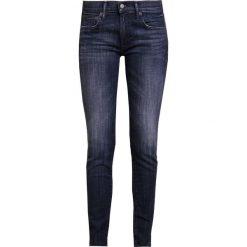 Odzież damska: Polo Ralph Lauren CASWELL  Jeans Skinny Fit dark indigo