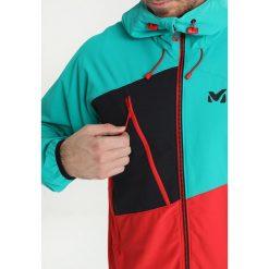 Millet ELEVATION CORDURA HOODIE Kurtka Softshell rouge/dynasty green. Niebieskie kurtki sportowe męskie Millet, m, z elastanu. W wyprzedaży za 404,50 zł.