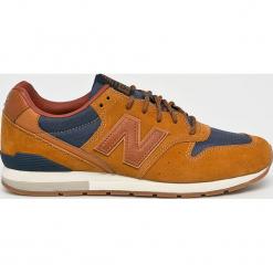 New Balance - Buty MRL996MR. Brązowe buty skate męskie New Balance, z materiału, na sznurówki. W wyprzedaży za 399,90 zł.